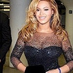 Day 2: Beyonce Shows Off Post Pregnancy Baby Body in Sexy Black Dress… [PHOTOS]
