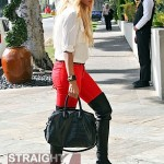 Blonde Ciara in Beverly Hills 021112-5