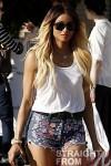 Ciara Daisy Dukes Beverly Hills 022212-4