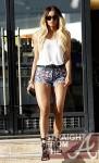 Ciara Daisy Dukes Beverly Hills 022212-5