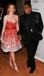 Don Cornelius and Victoria Cornelius - Clive Davis Pre-Grammy Party - Arrivals
