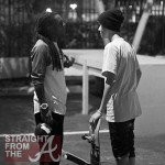 Odd Couple or Skateboard Buddies? Justin Bieber & Lil Wayne Hang Out… [PHOTOS]