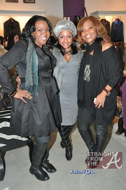 Michelle ATLien Brown Phaedra Parks Mona Scott Young