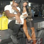 Neyo and Monyetta Shaw at Magic City ATL 020412-15