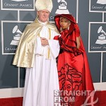 "Boo'd Up ~ Nicki Minaj and ""The Pope"" at the 2012 Grammy Awards… [PHOTOS]"