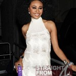 RHOA Cynthia Bailey Liquid Lightning Code Purple Event NYFW-19