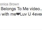 Monica Tweet