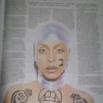 Erykah Badu Star Magazine