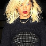 Is Rihanna an Exhibitionist? Singer Flashes Boobies in NYC… [PHOTOS]