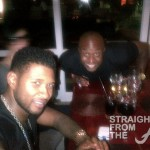 Usher Raymond & Rico Love in Africa - SFTA