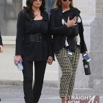 Beyonce Mama Tina and Blue Ivy Stroll in NYC - 031212-14