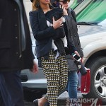 Beyonce Mama Tina and Blue Ivy Stroll in NYC - 031212-5