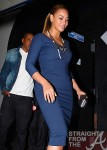 Beyonce and Jay-Z Leave NOBU 031912-41