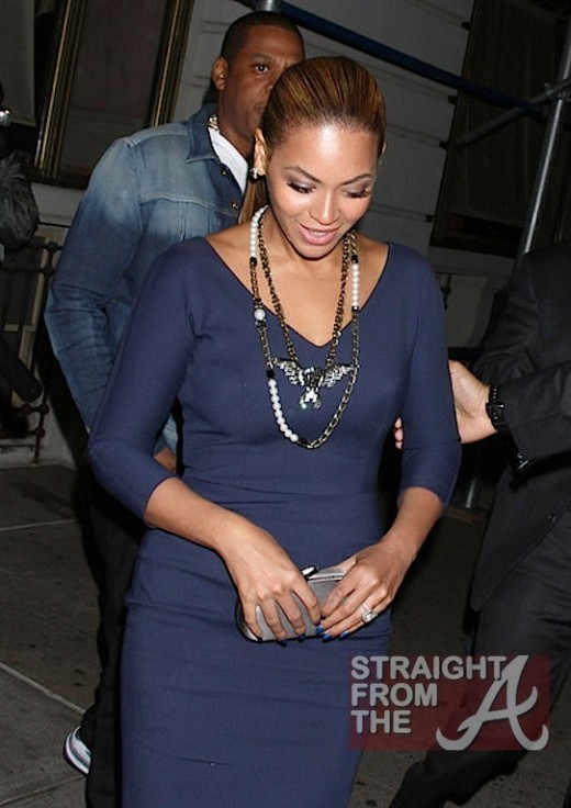 Bey Even Wore Her Wedding Ring ...