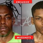 Coolio and His Son Mugshot