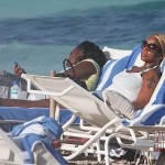 Beach Body Motivation: Mary J. Blige 'Tans' in Miami… [PHOTOS]