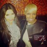 Nene leakes Kim Kardashian 031412
