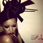 "Rihanna Goes ""Geisha"" For Coldplay + Hits Hollywood Club With Gal Pal… [PHOTOS]"
