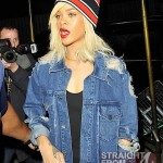 Fashion Do or Don't? Rihanna's Tattered Denim Jacket… [PHOTOS]