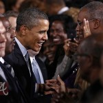 Tyler Perry Welcomes Barack Obama 031612-23