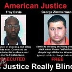 Is Justice Blind? Trayvon Martin Protest