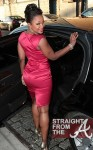 Phaedra Parks Leaves NYC Hotel 040412-5