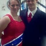 Confederate Prom Dress 2012 - 1