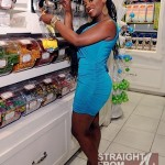 Spotted: Kandi Burruss and Her 'Freakum Dress' in Vegas… [PHOTOS]