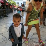 Keyshia Cole Gibson Family Outing 041812-7