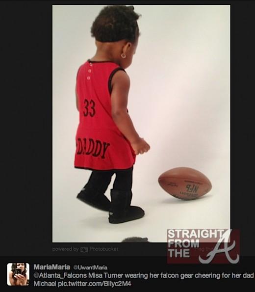 Twitter Fail! Atlanta Falcons Micheal Turner Wants Baby Mama #5