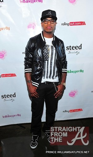 Neyo - Michael Ealy Rolling Out Cover Party 040312-18