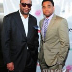 Munson Steed Michael Ealy Rolling Out Cover Party 040312-8
