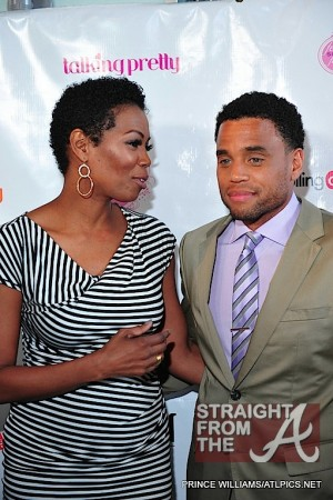 Michael Ealy Rolling Out Cover Party 040312-9