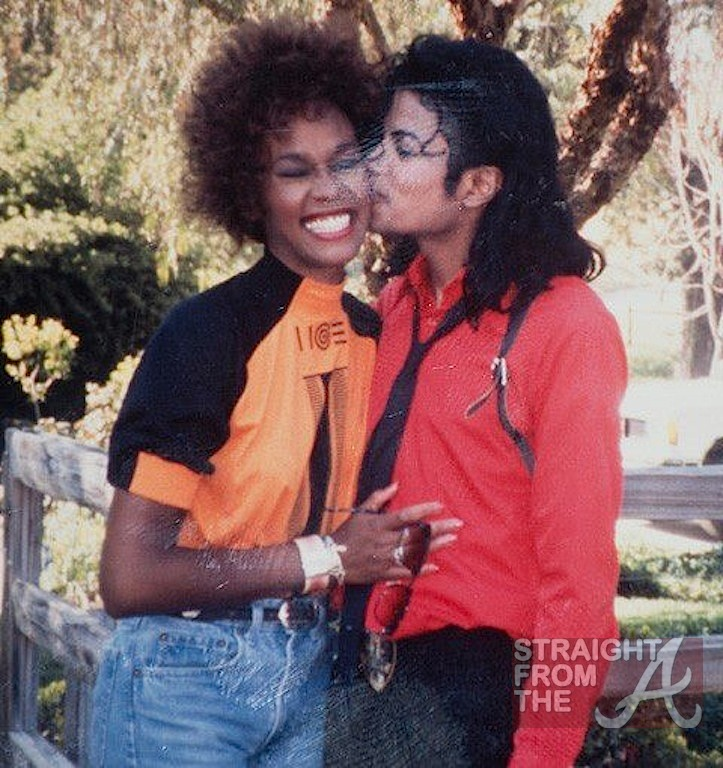 Rare Whitney Houston Photos Michael Jackson
