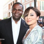 Mayor Kasim Reed Jasmine Guy - Think Like A Man Atlanta Premiere 040312-35