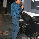 Usher Takes Ducati Out in Hollywood 3