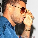 Usher Takes Ducati Out in Hollywood 4