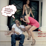 """OMG! Trey Songz """"Sex Ain't Better Than Love"""" Girl Let's It All Hang Out… LITERALLY! [PHOTO]"""