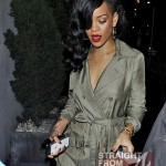 Rihanna Goes Naked Under Her Trench Coat… [PHOTOS]