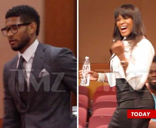 Usher And Chilli Back Together 2012