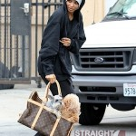 Ciara Looks Homeless in Hollywood 050312-8