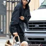 Ciara Looks Homeless in Hollywood 050312-9