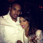Boo'd Up! Monica & Shannon Brown Host 'Hotel Noir' Event in ATL [PHOTOS]