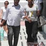 Nene and Gregg Leakes Shopping Miami 050612-1
