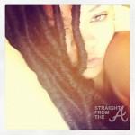 Rihanna Dreadlocks StraightFromTheA 2
