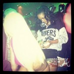Rihanna Tweets Pics From Strip Club & Doesn't Give a 'PHUCK'! [PHOTOS]