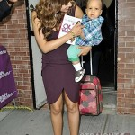 Tia Mowry and Son Cree 051512-2