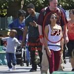 Usher Raymond Maya Fox Davis Disneyland Straightfromthea 1
