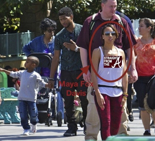 Guess who was spotted enjoying a family weekend at disneyland with