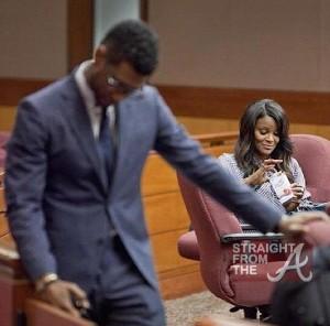 Usher Tameka Court StraightFromTheA 052212 - 0